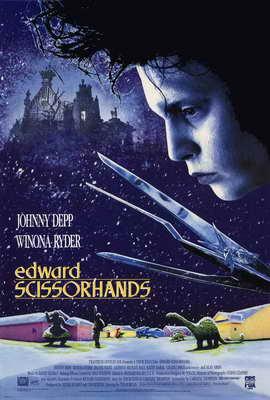 Edward Scissorhands - 27 x 40 Movie Poster - Style A