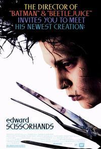 Edward Scissorhands - 27 x 40 Movie Poster - Style C