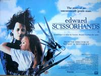 Edward Scissorhands - 30 x 40 Movie Poster UK - Style A