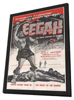 Eegah! - 27 x 40 Movie Poster - Style A - in Deluxe Wood Frame