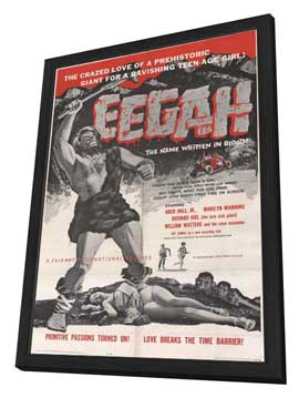 Eegah! - 11 x 17 Movie Poster - Style A - in Deluxe Wood Frame