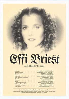 Effi Briest - 11 x 17 Movie Poster - German Style A