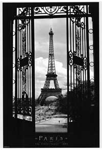 Eiffel Tower Paris - Inspirational Posters - 24 x 36 - Style A