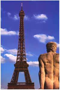 Eiffel Tower Paris - Photography Poster - 24 x 36 - Style A