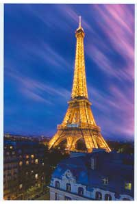 Eiffel Tower Paris - Photography Poster - 24 x 36 - Style B
