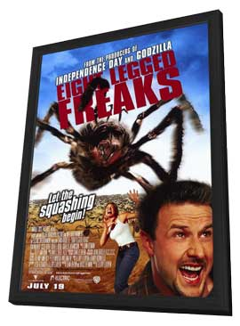 Eight Legged Freaks - 11 x 17 Movie Poster - Style A - in Deluxe Wood Frame
