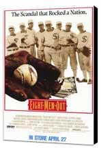 Eight Men Out - 11 x 17 Movie Poster - Style A - Museum Wrapped Canvas