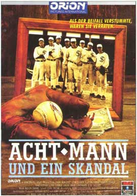 Eight Men Out - 11 x 17 Movie Poster - German Style A