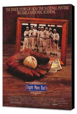 Eight Men Out - 27 x 40 Movie Poster - Style B - Museum Wrapped Canvas