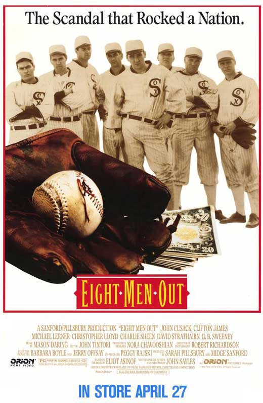 eight men out movie posters from movie poster shop. Black Bedroom Furniture Sets. Home Design Ideas