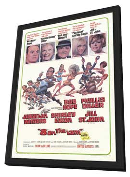 Eight on the Lam - 11 x 17 Movie Poster - Style A - in Deluxe Wood Frame