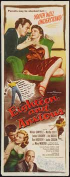 Eighteen and Anxious - 14 x 36 Movie Poster - Insert Style A