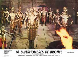 Eighteen Bronzemen - 11 x 14 Movie Poster - Style A