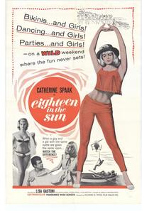Eighteen in the Sun - 27 x 40 Movie Poster - Style A