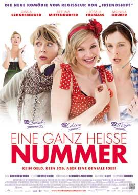Eine ganz heibe Nummer - 43 x 62 Movie Poster - German Style A