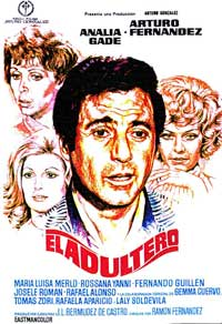 El Adultero - 11 x 17 Movie Poster - Spanish Style A