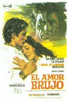 El amor brujo - 11 x 17 Movie Poster - Spanish Style A
