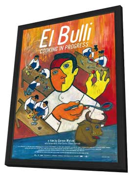 El Bulli: Cooking in Progress - 11 x 17 Movie Poster - German Style A - in Deluxe Wood Frame