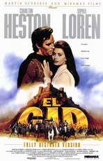 El Cid - 11 x 17 Movie Poster - Style B