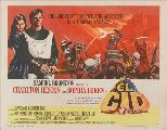 El Cid - 30 x 40 Movie Poster UK - Style A