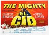 El Cid - 30 x 40 Movie Poster UK - Style B