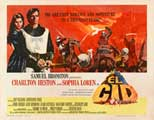 El Cid - 22 x 28 Movie Poster - Half Sheet Style A