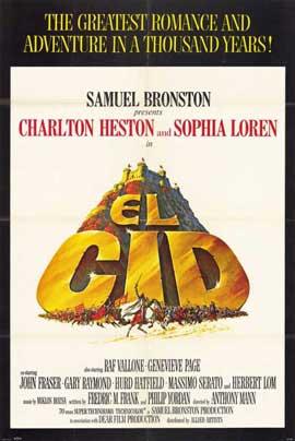El Cid - 11 x 17 Movie Poster - Style C