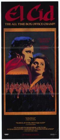 El Cid - 11 x 17 Movie Poster - Style D