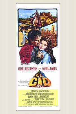 El Cid - 14 x 36 Movie Poster - Insert Style B
