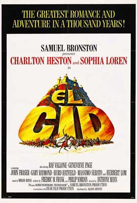 El Cid - 27 x 40 Movie Poster - Style A