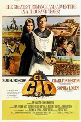 El Cid - 11 x 17 Movie Poster - Style E