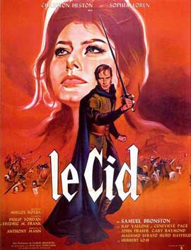 El Cid - 27 x 40 Movie Poster - French Style A