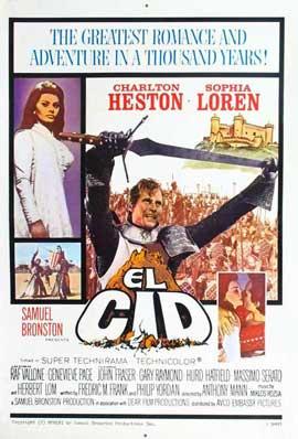 El Cid - 11 x 17 Movie Poster - Style F