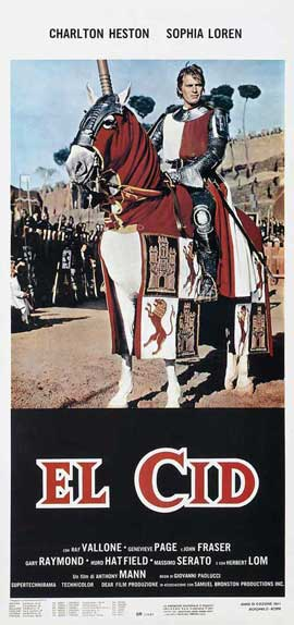 El Cid - 14 x 36 Movie Poster - Insert Style D