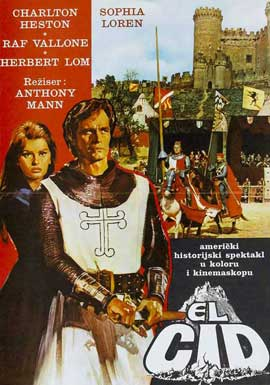 El Cid - 11 x 17 Movie Poster - Style G