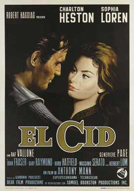 El Cid - 11 x 17 Movie Poster - Style H
