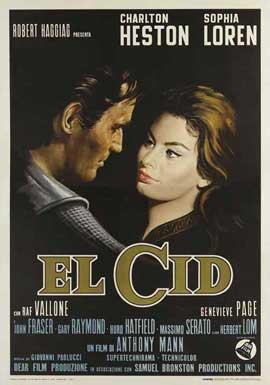 El Cid - 27 x 40 Movie Poster - Style E