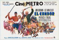 El Condor - 27 x 40 Movie Poster - Belgian Style A