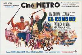 El Condor - 11 x 17 Movie Poster - Belgian Style A