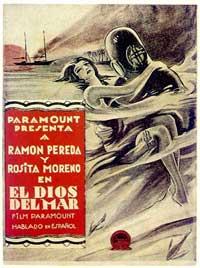 El Dios del Mar - 11 x 17 Movie Poster - Spanish Style A