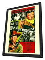 El Dorado - 11 x 17 Movie Poster - Style A - in Deluxe Wood Frame