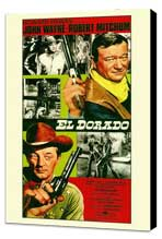 El Dorado - 11 x 17 Movie Poster - Style A - Museum Wrapped Canvas