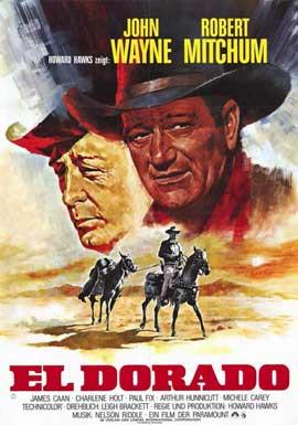 El Dorado - 11 x 17 Movie Poster - German Style A
