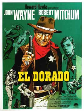 El Dorado - 11 x 17 Movie Poster - Danish Style A