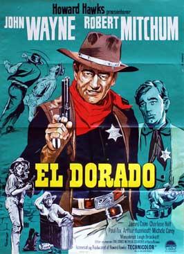 El Dorado - 11 x 17 Movie Poster - Danish Style C