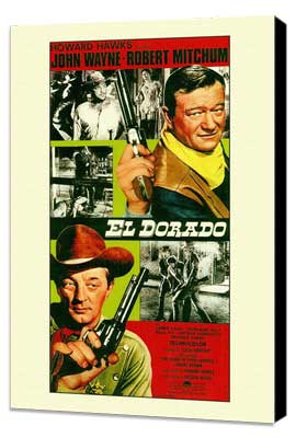 El Dorado - 27 x 40 Movie Poster - Style A - Museum Wrapped Canvas