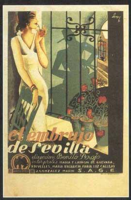 El embrujo de Sevilla - 11 x 17 Movie Poster - Spanish Style B