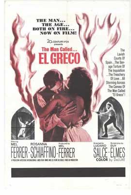 El Greco - 27 x 40 Movie Poster - Style A