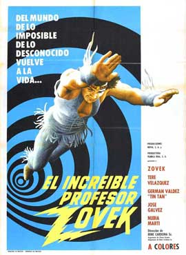 El increible profesor Zovek - 11 x 17 Movie Poster - Spanish Style A