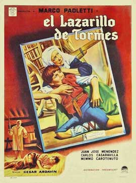 El lazarillo de Tormes - 11 x 17 Movie Poster - Spanish Style A